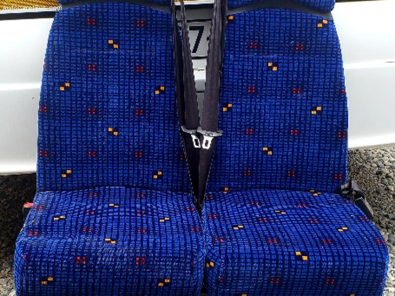 Banquettes doubles pour Iveco Irisbus Recreo