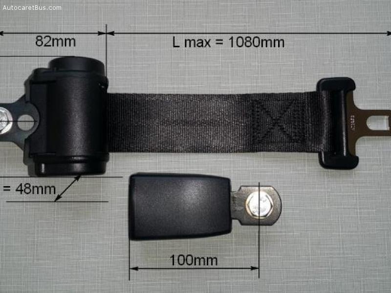 ceinture de sécurité deux points